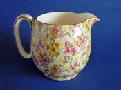 Large Royal Winton 'Estelle' Chintz Globe Jug c1952